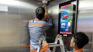 vktech lắp đặt camera an ninh cho hệ thống thang máy